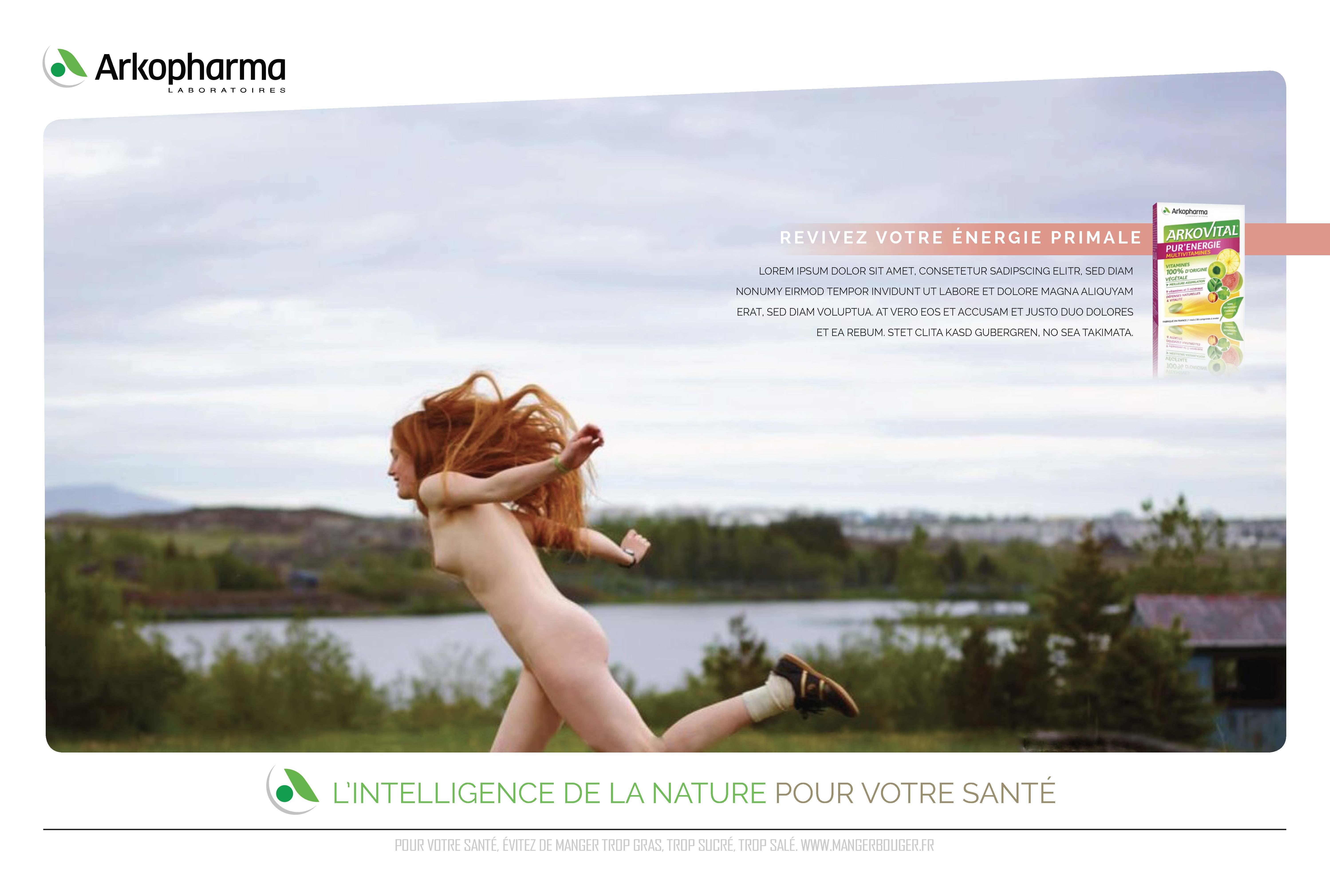 Arkopharma / Campagne institutionnelle