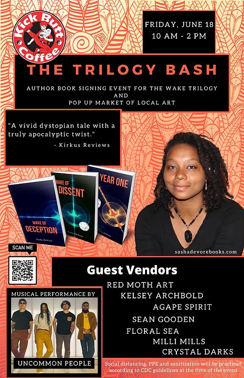 The Trilogy Bash  Author Book Signing Ev