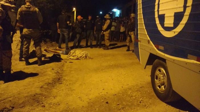Crime na Rua Rita de Freitas, no Cruzeiro. Foto: Blog Marcos Frahm