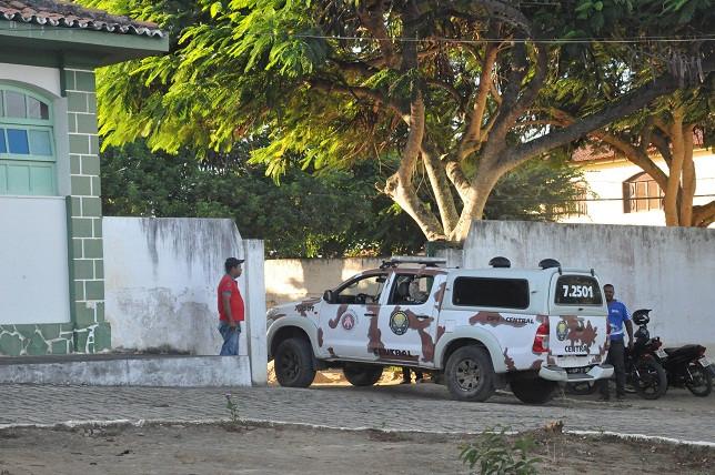 Polícia encaminhou suspeito ao hospital. Foto: Blog Marcos Frahm
