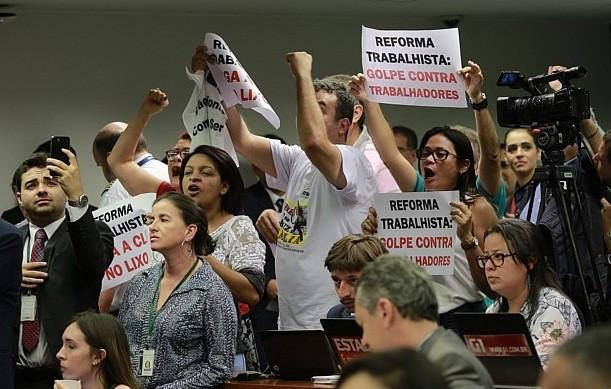 Sessão para votar reforma deve ser tensa. Foto: Estadão Conteúdo