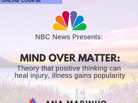 Mind over matter: Theory that positive thinking can heal injury, illness gains popularity