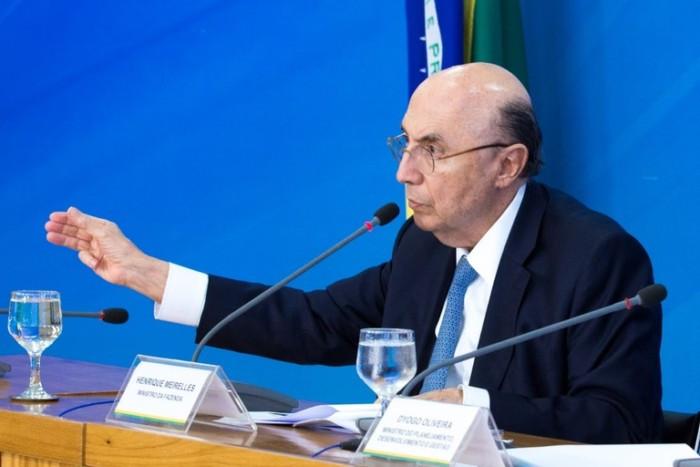 Ministro da Fazenda, Henrique Meirelles. Foto: Gustavo Raniere