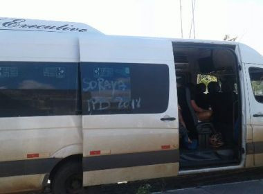 Assassinato aconteceu dentro de van que seguia para Alagoas