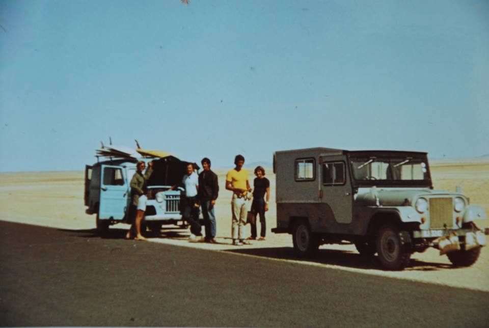 Lost in Namibia in the seventies. Image: Mick Marlin