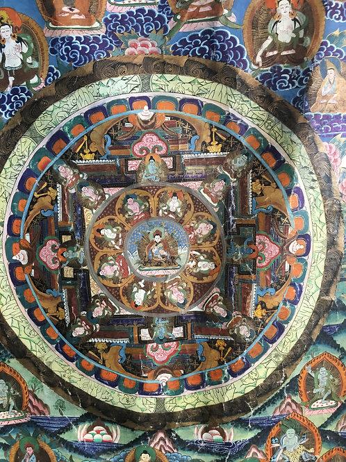 Thanks (bønneteppe) fra Tibet