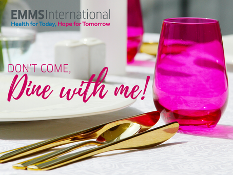 Don't come, dine with me