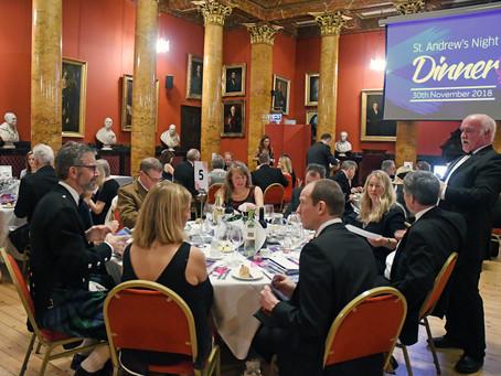 St Andrews Dinner Raises £26,000