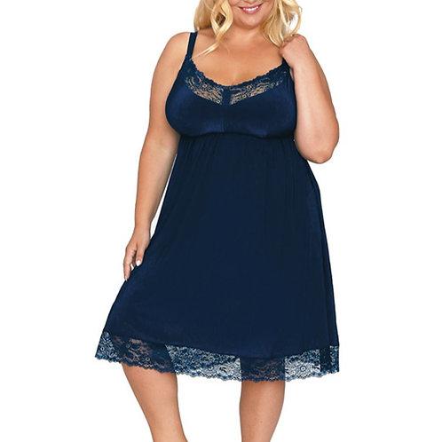 Сорочка с поддержкой груди Akcent, темно-синяя