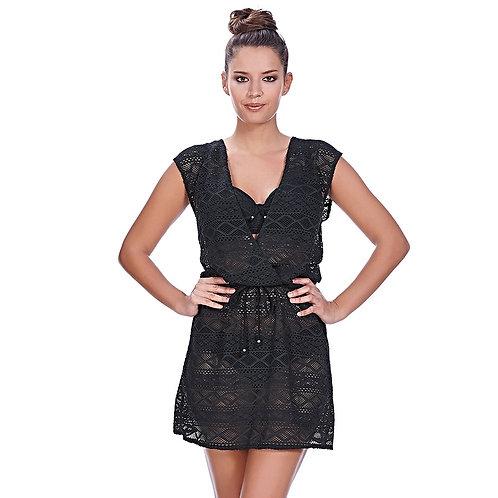 Платье-туника Freya Sundance, черное