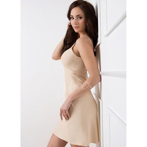 Сорочка бесшовная с легкой утяжкой Julimex, цвет телесный