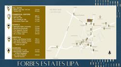 Forbes Estates Lipa Batangas Location
