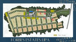 Forbes Estates Lipa Batangas Map