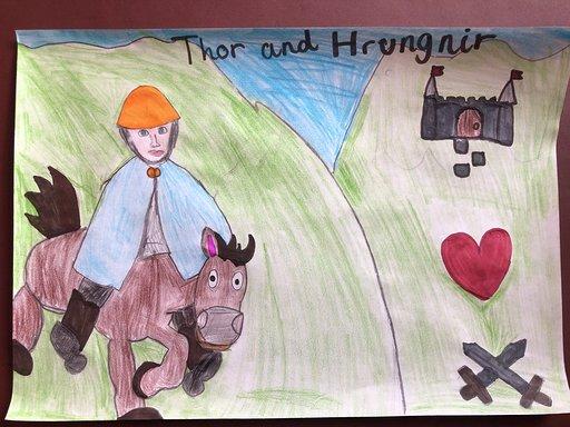 Thor and Hrungnir; Sophie