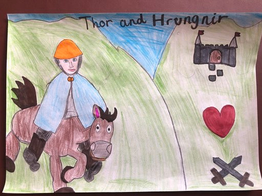 Washington - Sophie (Thor and Hrungnir)