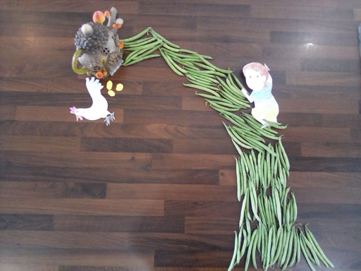 Jack and the Beanstalk; Milly