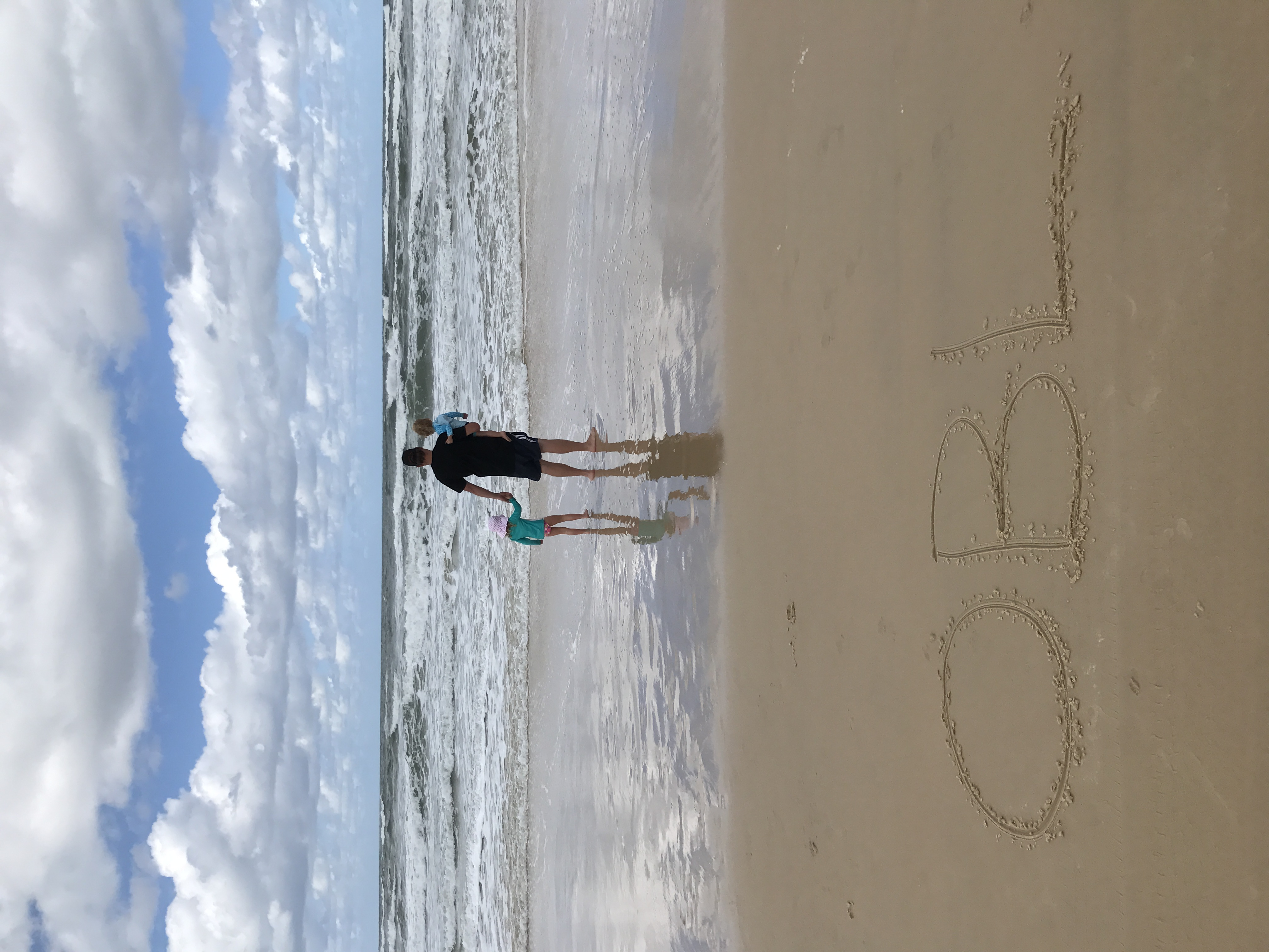 'Our' beach on Fraser Island