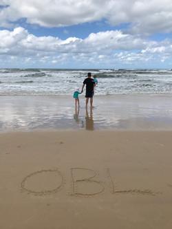 'Our' beach on Fraser Island