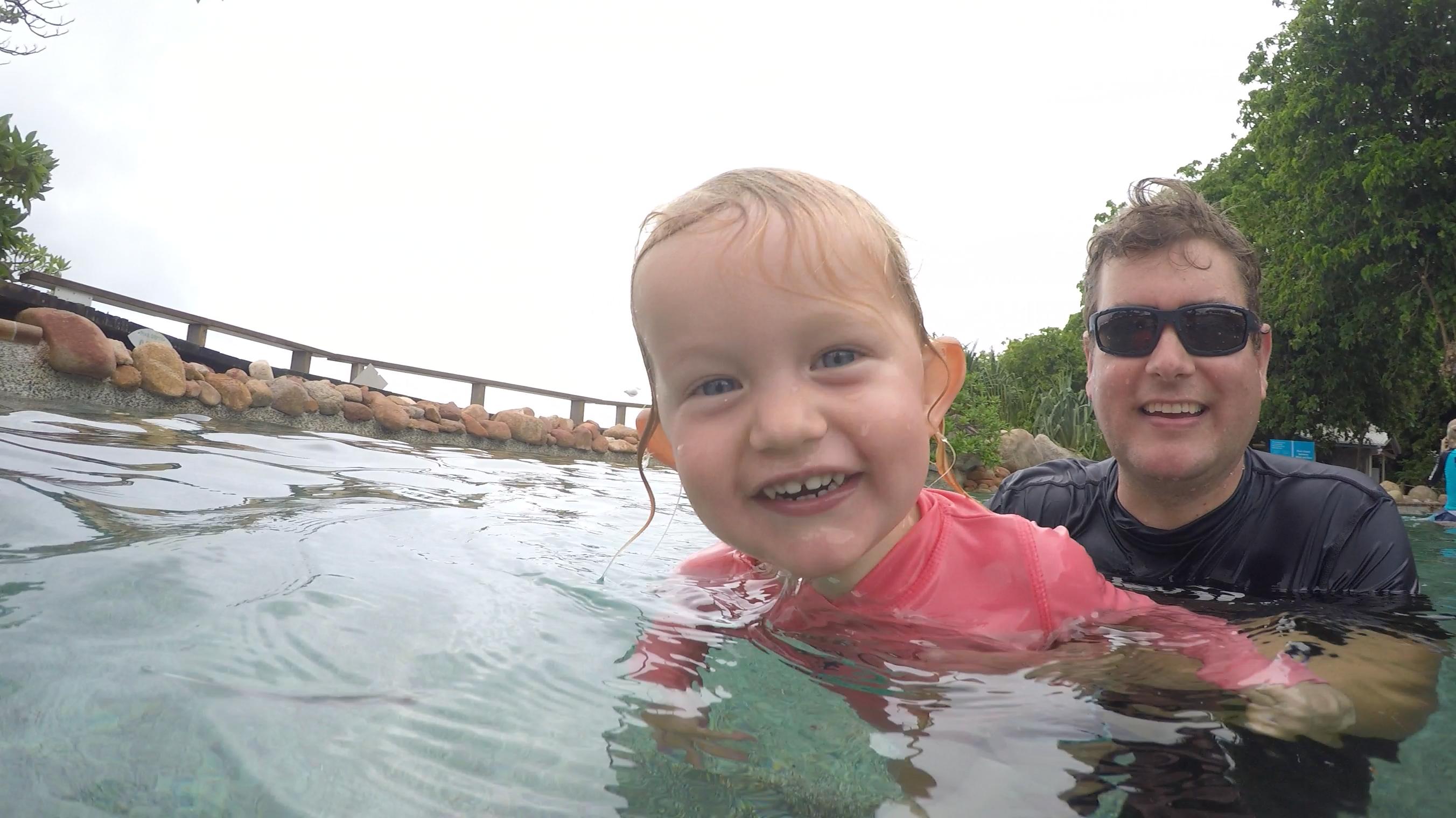 Pool fun!