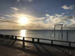 Our first Heron Island sunset