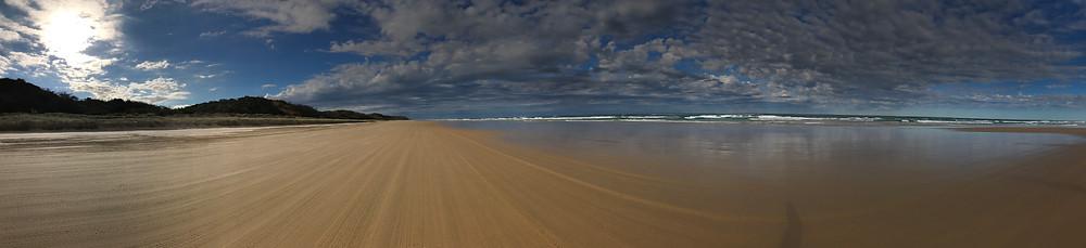 75 Mile Beach, Fraser Island