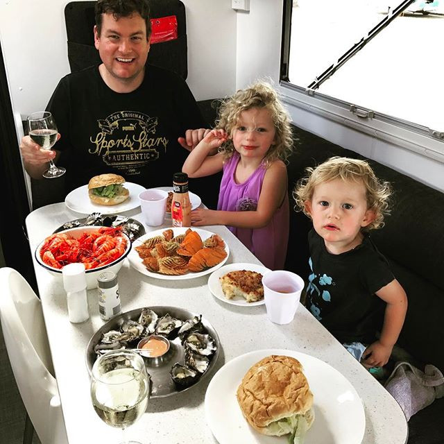 South West Rocks seafood feast at Ballina