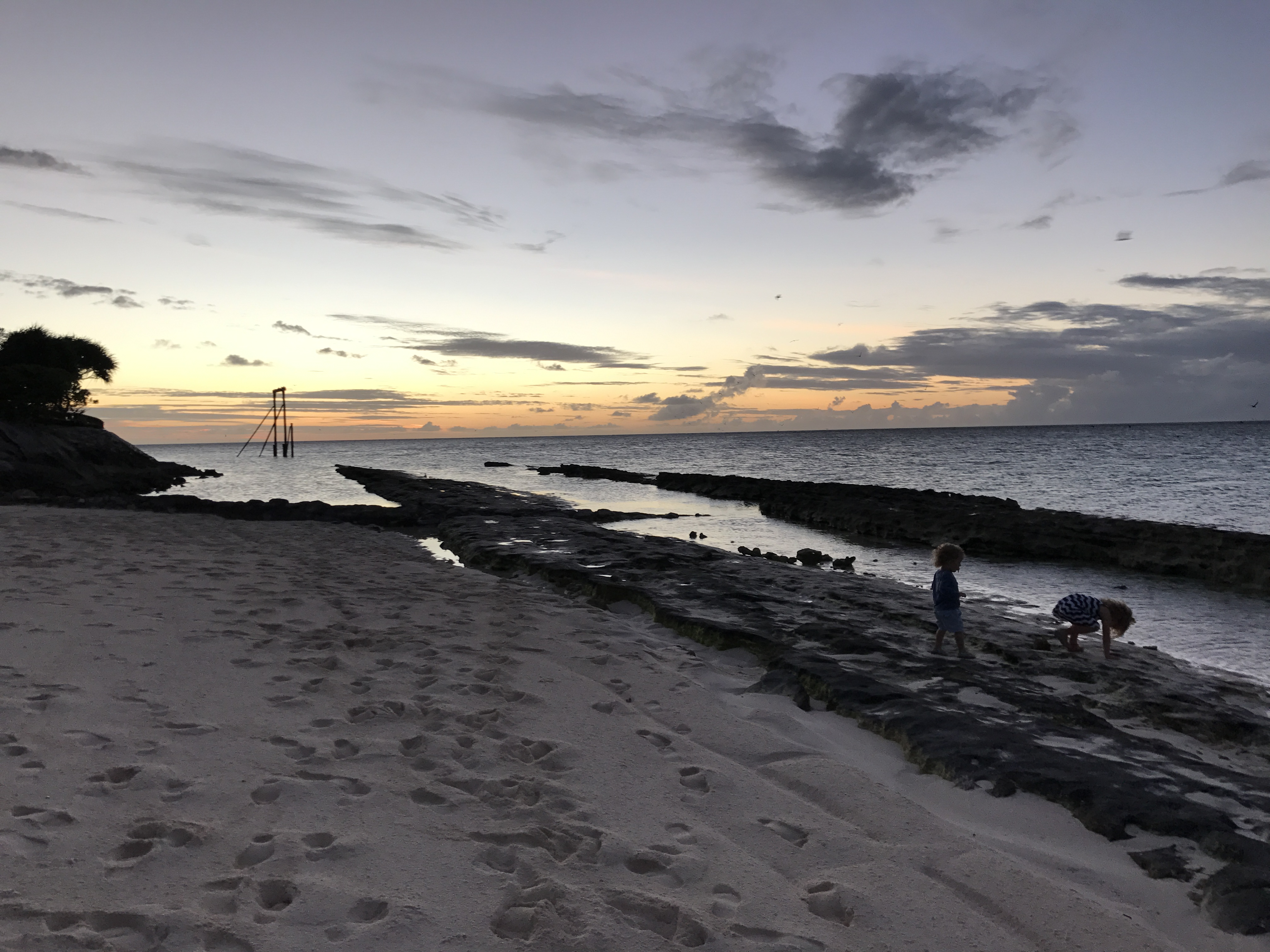 Sunset on Heron Island