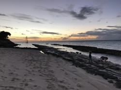 Sunset on Heron Island