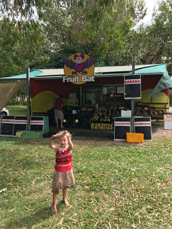 Fruit stop on the highway at Cairns