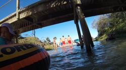Boat ride down Eli Creek