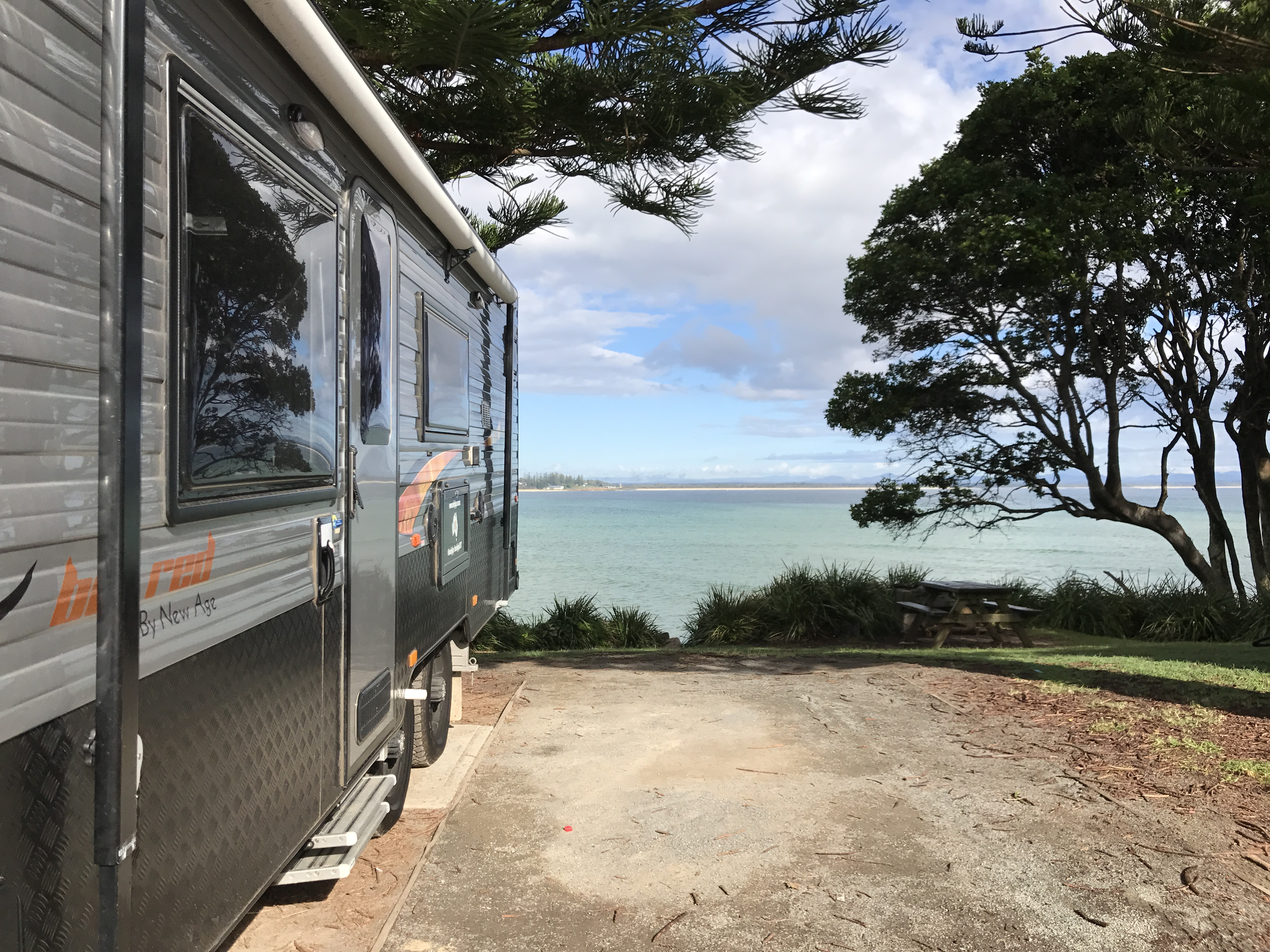 Trial Bay Gaol Campground