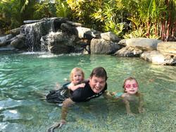 One of the pools at Pinnacle Village