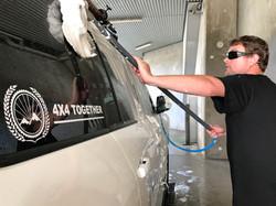 Car wash back on the mainland
