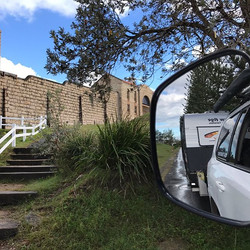 So long Trial Bay Gaol Campground..