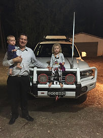 The Pollard Family and our Toyota LandCruiser