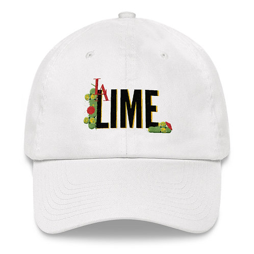 L.A. LIME WHITE DAD HAT