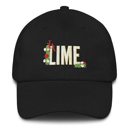 L.A. LIME BLACK DAD HAT