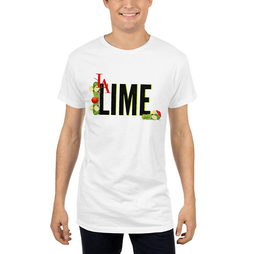 L.A.LIME NO QUESTIONS TEE