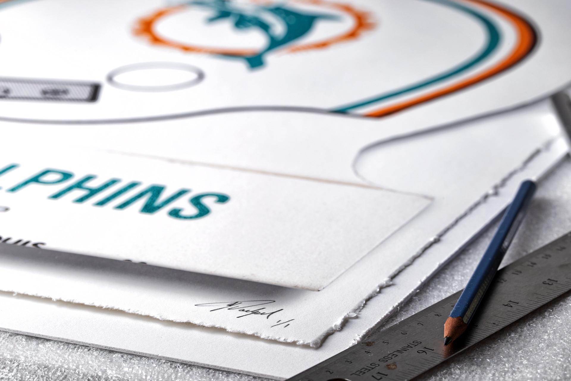 miami-dolphins-art-matchbook-gift-framed