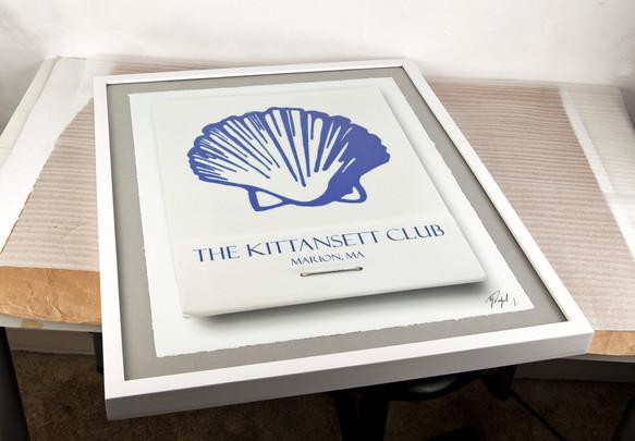 kittansett-golf-art-matchbook-gift-logo.