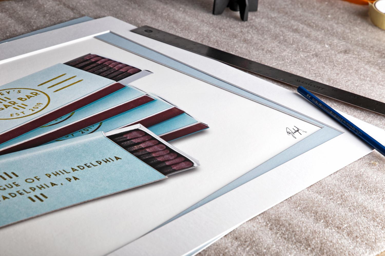 custom-matchbook-art-framed-matted-2.jpg