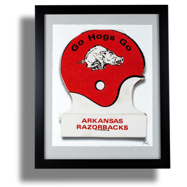 arkansas-razorbacks-football-matchbook-a
