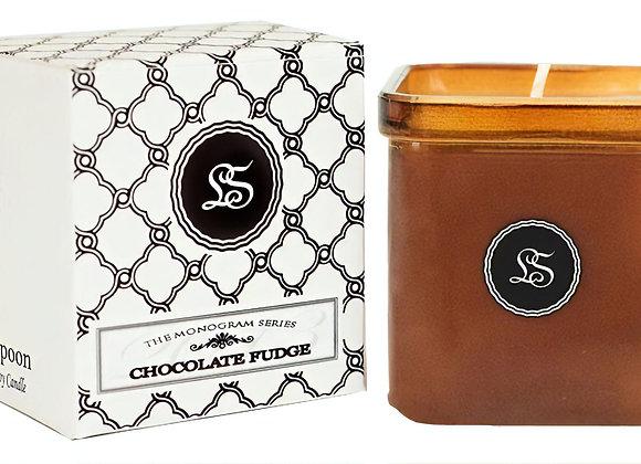 Chocolate Fudge Designer Candle Square