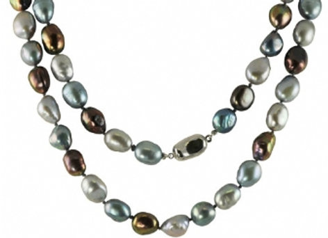 Boroquey 36 inch Freshwater pearl neck