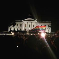 #WeAreOrlando vigil at the White House