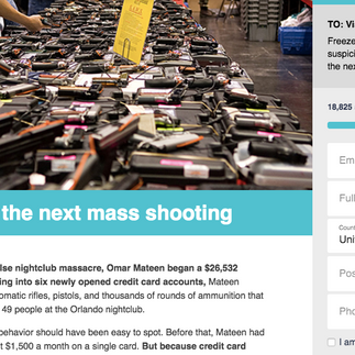 Corporate campaign to prevent mass shootings