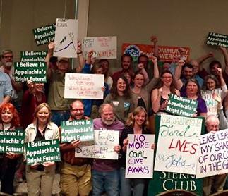 Appalachians testify against mining