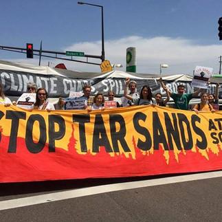Tar Sands Resistance March