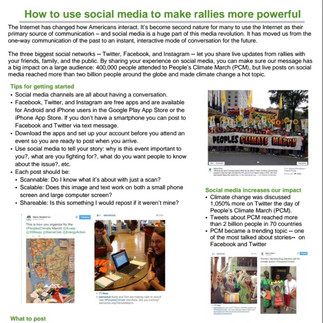 Social media for live events training guide