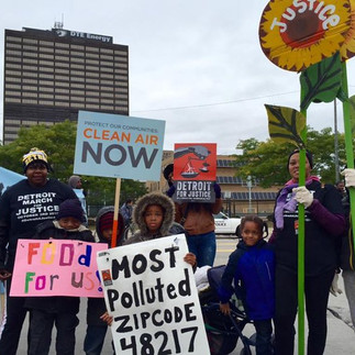 Visual storytelling at the Detroit March for Justice